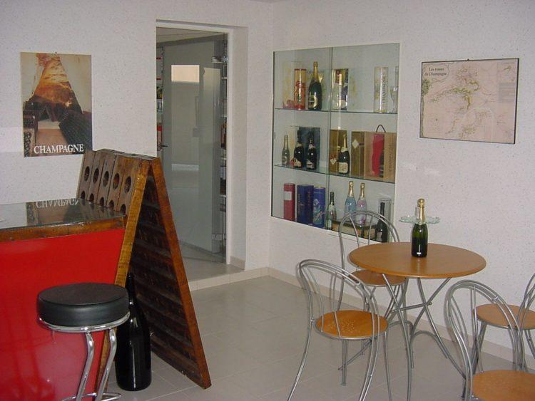 Champagne Oudéa - Salle de réception